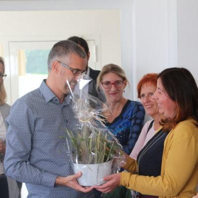 Haus der Gesundheit, Eröffnung, Bürgermeister Mattsee, Isabell Racz