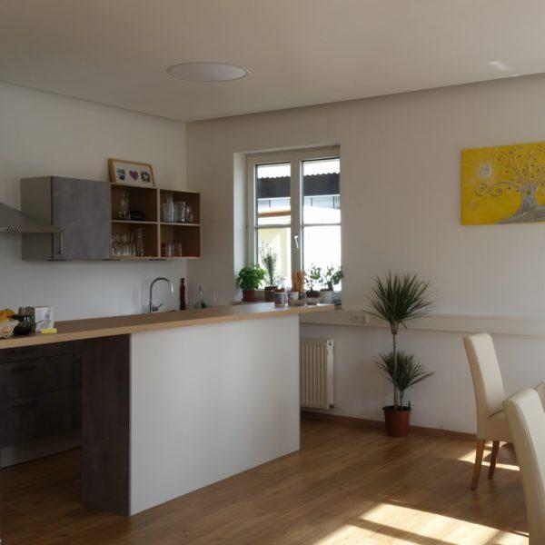 Küche und Treffpunkt des Hauses